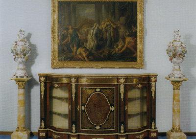 Credenza in stile C. Boulle firmata Brnard Van Reisen Bourgh - epoca 1770