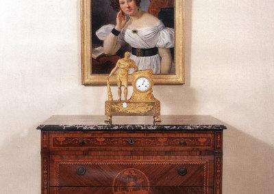 Cassettone scuola del Maggiolini - epoca 1780-1790