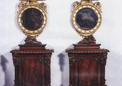Coppia di mobili stile Chippendale - 1800-1810