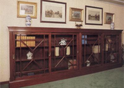 Mobile Libreria Mogano Cuba epoca 1830